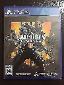 NEUF/ NEW Call Of Duty Black Ops 4 jeu scellée PS4 Playstation 4
