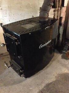 Wood Burning Furnace in Excellent Condition