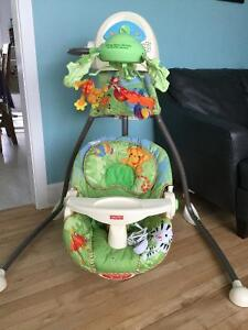 For Sale - Fisher Price Rainforest Swing