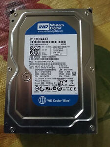 "3.5"" SATA Western Digital 500 GB Desktop Internal Hard Disk"