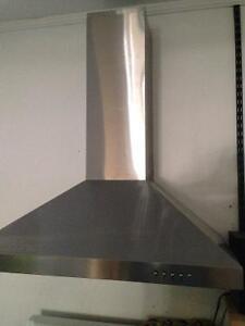 Stainless steel hood