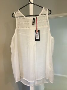 Brand new white tank top with tags size XL St Marys Penrith Area Preview