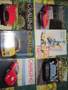 Cavallino & Prancing Horse mags.