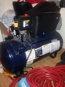 Master craft air compressor