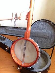 Banjo grestch 5 strings open back