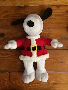 CHRISTMAS SNOOPY stuffed toy $15 London Ontario image 1