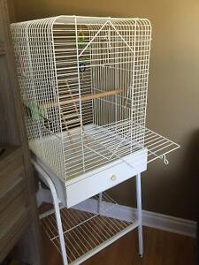 Large Birdcage with Stand
