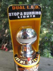 """Bully 1-7/8"""" Chrome Plated Steel Shank Trailer Hitch Ball w. LED London Ontario image 10"""
