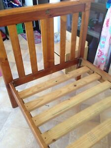 Solid timber single bed-bounty collection Sandy Beach Coffs Harbour Area Preview