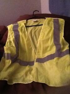 High Visibility Vest -yellow