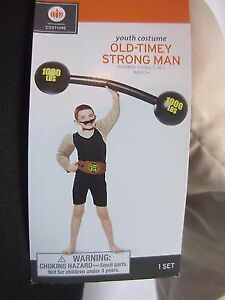 Strong Man Costume, size 3+