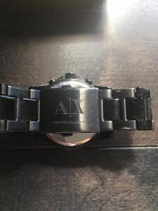 ARMANI EXCHANGE Men's Banks Stainless Steel Black Watch West Island Greater Montréal image 5