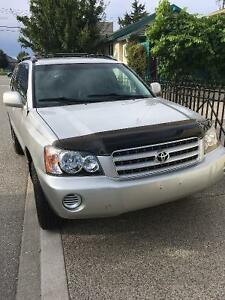 2002 Toyota Highlander cloth SUV, Crossover