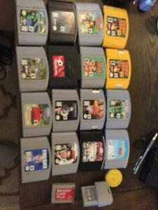 N64 system games controller and accessories