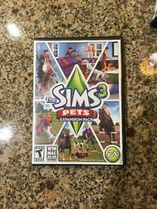 Sims 3 Pets Expansion Pack+Box/Paperwork