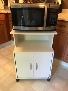 Danby Microwave AND Microwave Stand