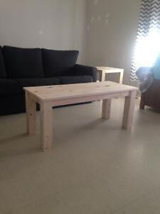 Built to order coffee tables