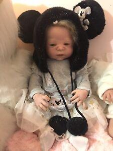 "Reborn full body baby girl doll 23"" Melbourne CBD Melbourne City Preview"