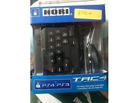 Hori HORI Tactical Assault Commander (TAC:Four) KeyPad and Mouse Controller (PS4/ps3