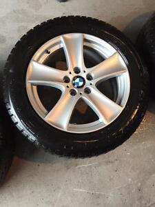 4 x BMW MAGS 18 POUCES & PNEUS RUNFLAT 255/55r18