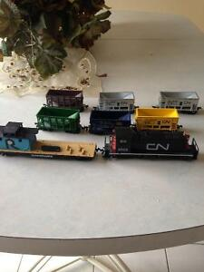 HO Scale Ore Train