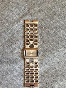 Small Face Chrome GUESS Watch (Woman's)