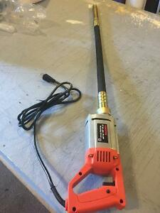 Concrete Vibrator 1hp 39 inch needle/hose 110v clearance price