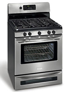 "Frigidaire 30"" stainless steel gas stove for sale"