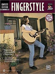 Complete Finger style Guitar Method Complete Edition Book and CD