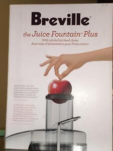 Breville juice foundation plus!!!! $175 Edmonton Edmonton Area image 2