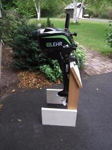 Lehr 3.5HP Propane fueled outboard motor