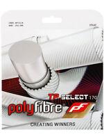 POLYFIBRE TP SELECT 17/1.25 TENNIS STRING SET , BLACK , ONE SET