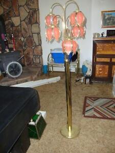 3 Tulip lamps for sale.