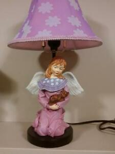 Handcrafted night/side Angel Table Lamp