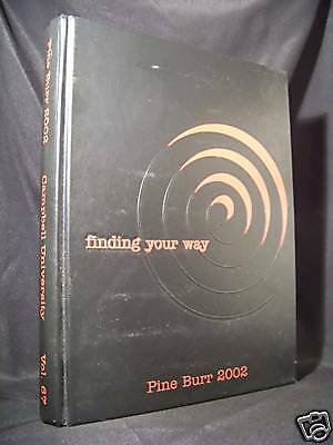"""Campbell University 2002 Yearbook """"Pine Burr"""""""
