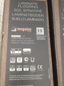 German Engineered Megaloc Laminate flooring 75 sq ft