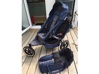 Phil & Teds sport double buggy including cocoon in good condition. £80.
