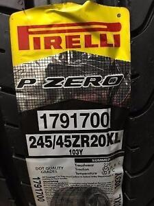 4 Brand New Pirelli Pzero 245/45ZR20 Summer Tires *** WallToWallTires.com ***