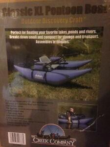 Pontoon fishing chair