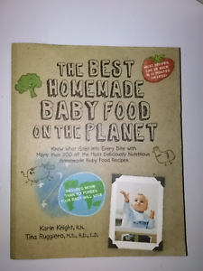 Homemade baby food recipe book Glenelg Holdfast Bay Preview