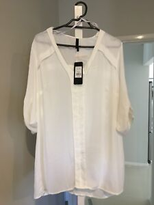 Brand new size 14 crossroads white blouse St Marys Penrith Area Preview