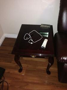 2 Beautiful Cherry End Tables
