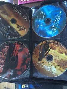 125 dvd's