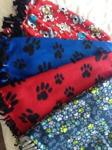 Soft and cuddly puppy blankets