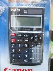 Canon DK-10i 12-Digit USB Calculator New in Package Never Used London Ontario image 2