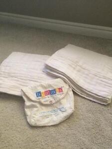 Bummis Organic Cotton Prefold Diapers