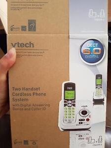 Two handset cordless home phone Stratford Kitchener Area image 3