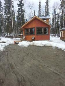 cabin for rent available oct 1st