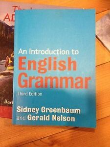 Rules of English Grammar (LING1440)