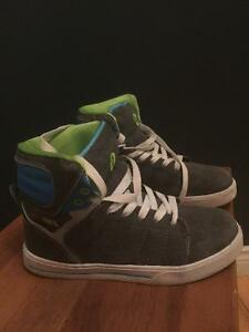 High top sneakers.size 4 St. John's Newfoundland image 1